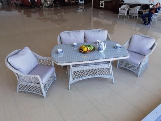 Комплект мебели BURTON 4 Цвет: Светло-серый