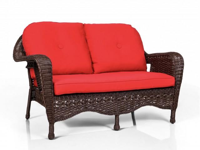 Двухместный диван для сада А-1409
