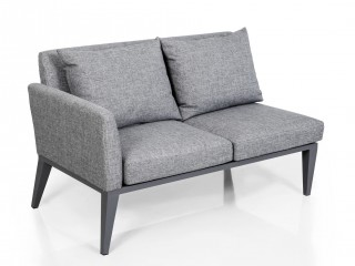 Комплект мебели (Трехместный диван + двухместный диван + 1 стол + 2 кресла) HAMBURG угловой