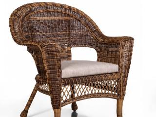 Комплект мебели SW 1019 Цвет: Светло-коричневый (Диван 2х местный + 2 Кресла + Стол)